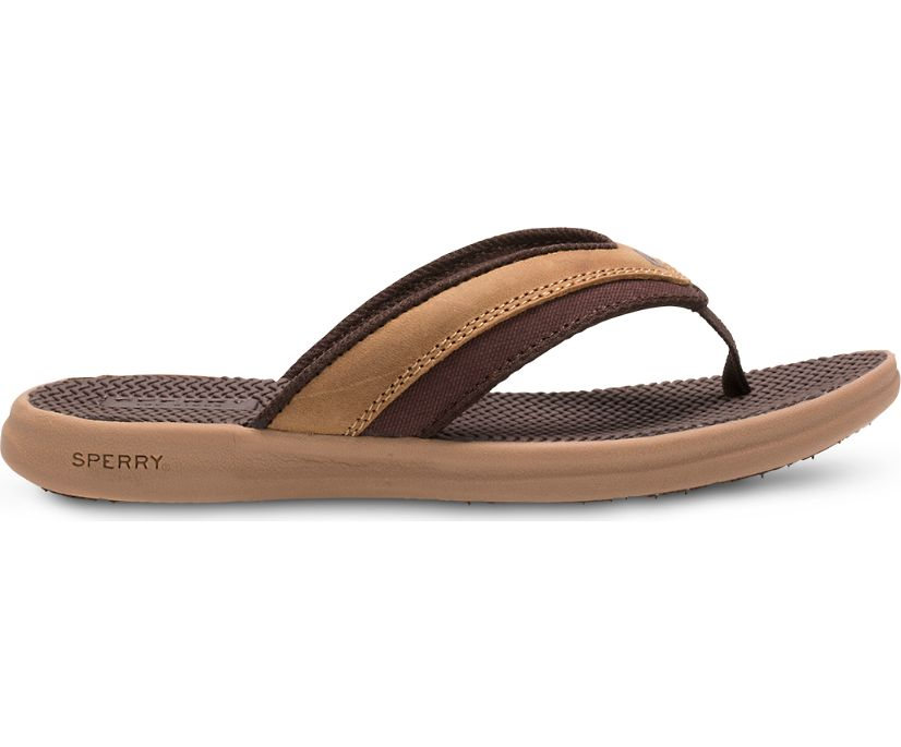 Gamefish Sandal, Dark Tan, dynamic