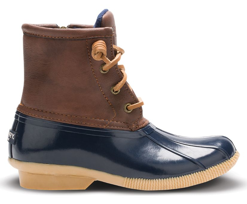 Saltwater Duck Boot, Navy, dynamic