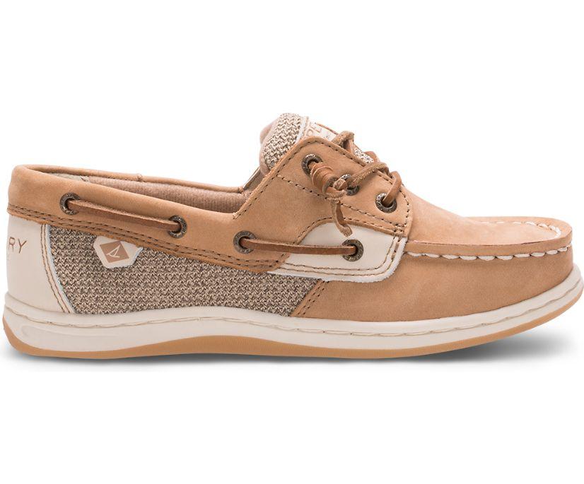 Songfish Boat Shoe, Linen / Oat, dynamic