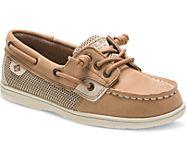 Shoresider 3 Eye Boat Shoe, Linen Oat, dynamic