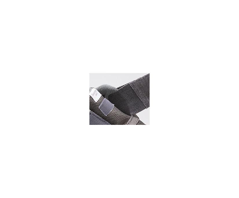 Jazz Riff Sneaker, Grey | White, dynamic