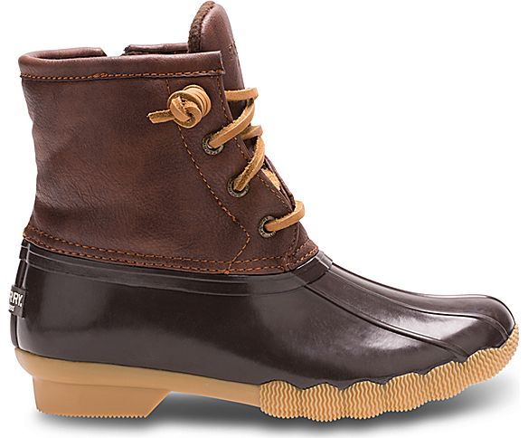 Saltwater Duck Boot, Brown, dynamic