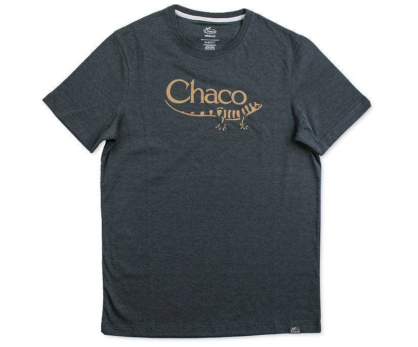 Chaco Heritage Logo Tee, Black, dynamic