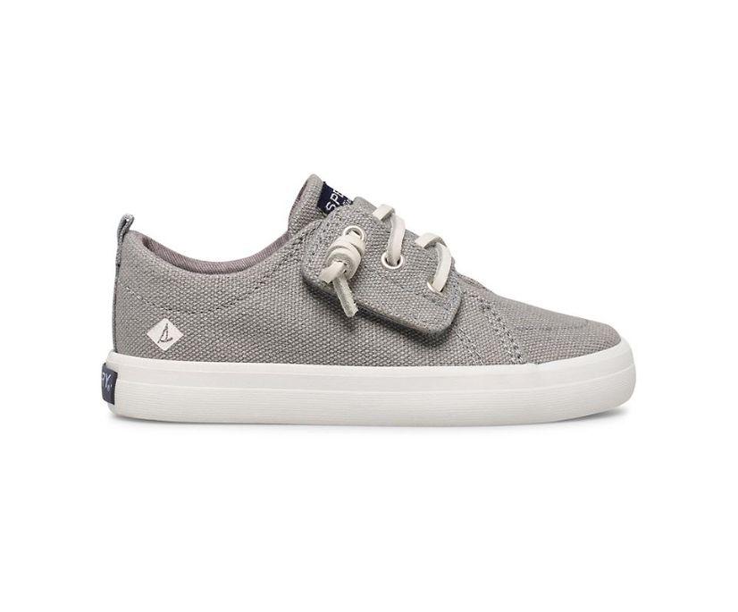 Crest Vibe Junior Sneaker, Grey, dynamic