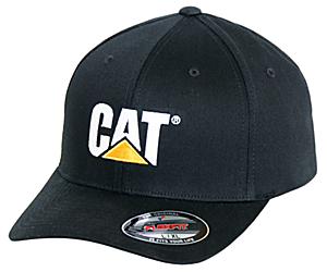 Trademark Flexfit Cap, Black, dynamic
