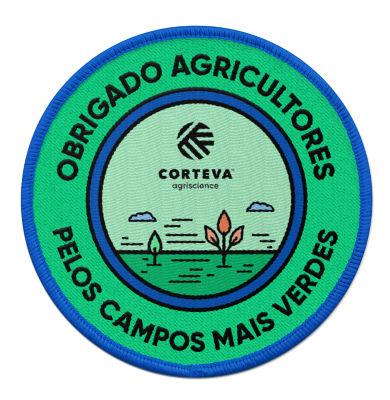 Obrigado agricultores por campos mais verdes