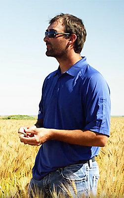 Fifth-generation South Dakota farmer, Dillon Boulon