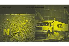 N at night through security camera