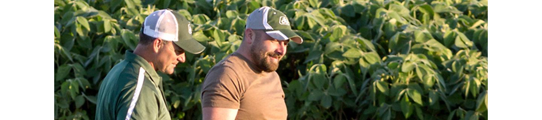 Cultivos y agricultores