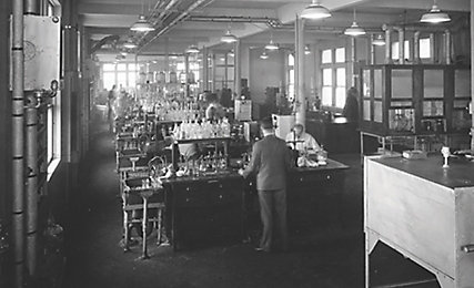 Old chemical laboratory