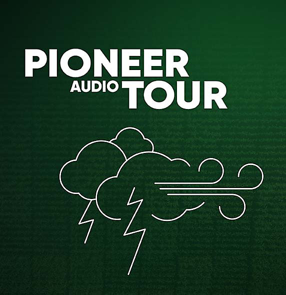Pioneer Audio Tour - Corn Testing Plot