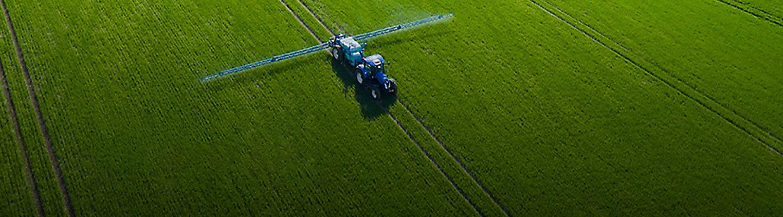 Обработка поля для защиты растений