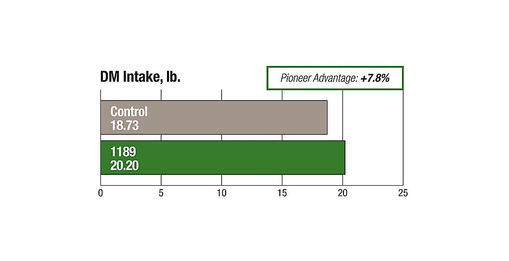 1189 DM Intake Pound Chart