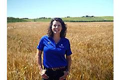 Bridgette Readel in field