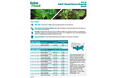 Enlist™ Ahead Farmer Rewards resource guide for the southern U.S.