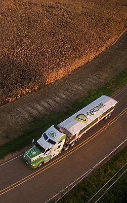 Qrome® semi truck