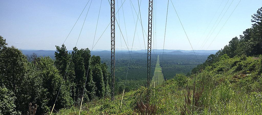ROW managed by Alabama Power Company