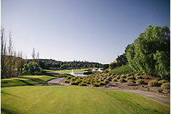 golf course with burmuda rye grass