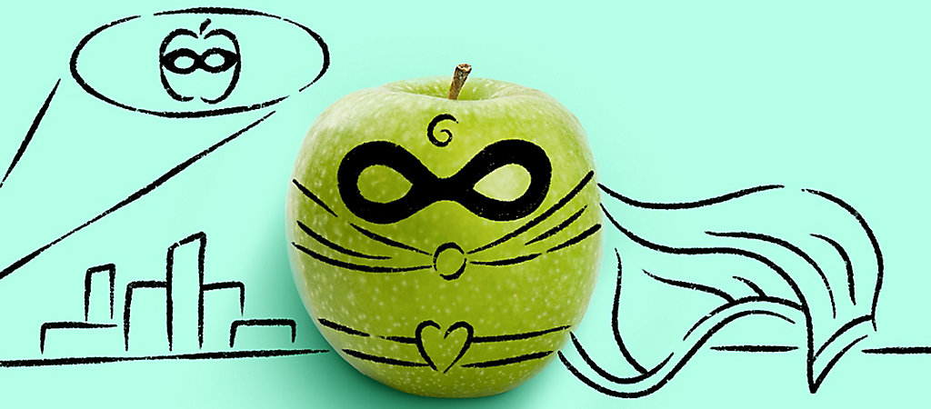 Super Hero Apple
