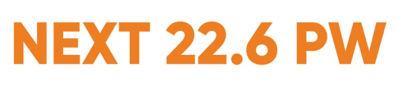 Logo del producto NEXT 22.6 PW