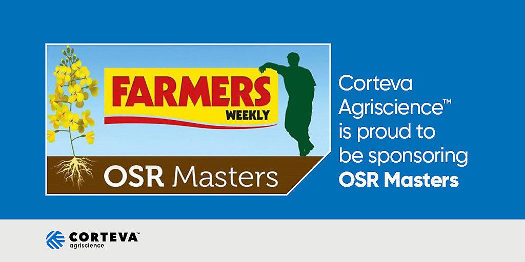 OSR Masters Corteva sponorship