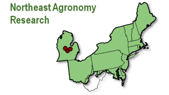 Map: Northeast Agronomoy Research