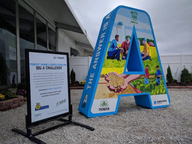 The Big A Challenge premiered at 2018 Farm Progress Show in Boone, Iowa.