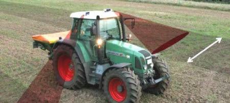 How to position the CropSpec sensor on fertilizer applicator.