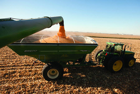 Corn yields have increased at a faster rate than most other crops.