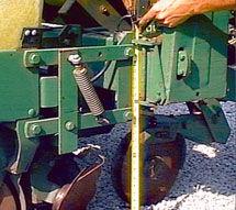 Planter toolbar height