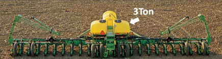 Planter - center frame weight