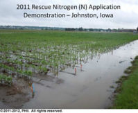 2011 Rescue Nitrogen Application Demonstration - Johnston, Iowa