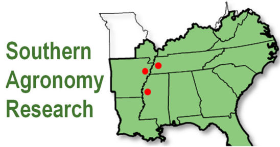 Map - Southern agronomy research