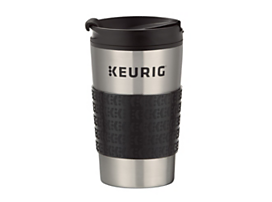 Keurig™ insulated stainless steel travel mug 12oz