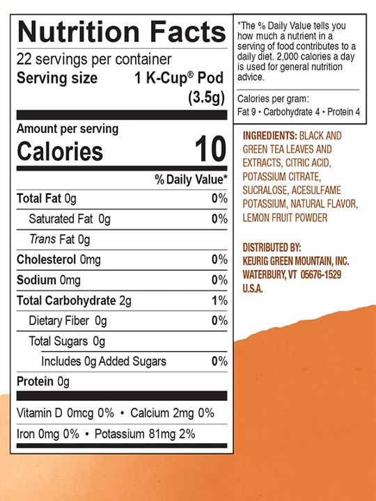 99555061130 Nutritional Facts