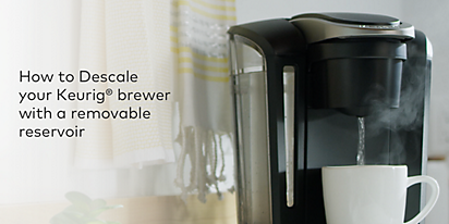 How To Descale Your Keurig Coffee Maker
