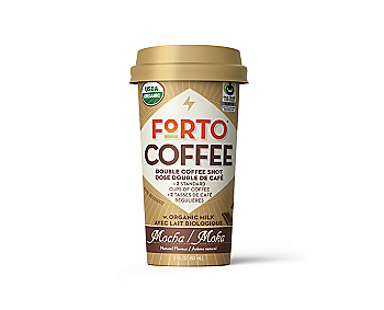 Forto Organic Coffee Shot – Mocha