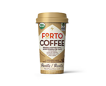 Forto Organic Coffee Shot – Vanilla