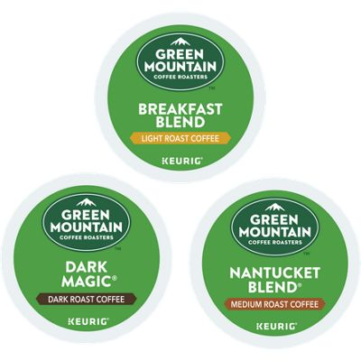 Green Mountain Coffee Roasters® Variety Pack ( 72-ct ) Bundle