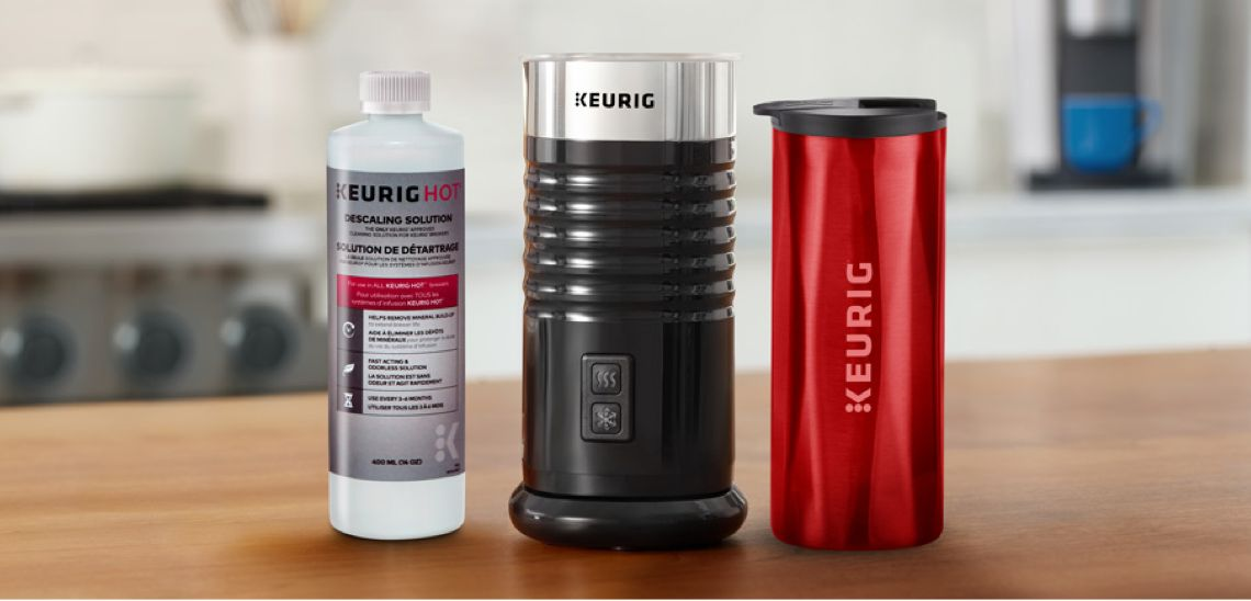 Elevate your coffee experience with Keurig® accessories