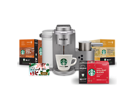 Keurig® K-Café® Special Edition with Starbucks® Gift Bag and $25 Gift Card
