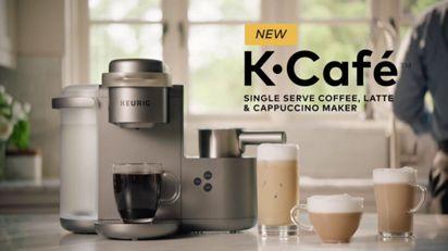 K-Café® Special Edition Single Serve Coffee, Latte & Cappuccino Maker