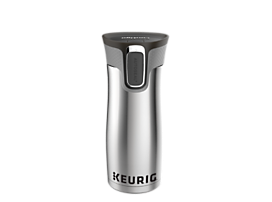 Keurig® 16oz Stainless Steel Travel Mug
