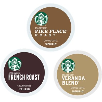 Starbucks® Roast Variety Pack ( 72-ct ) Bundle