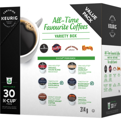 Variety Box - All Time Favourite Coffees Recyclable