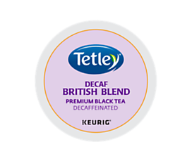 Tetley Tea British Blend Decaf Tea K-Cup Pod