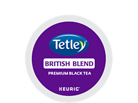 Tetley Tea British Blend Tea K-Cup Pod