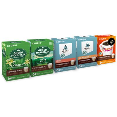 Espresso Roast Beverages Variety Pack Bundle