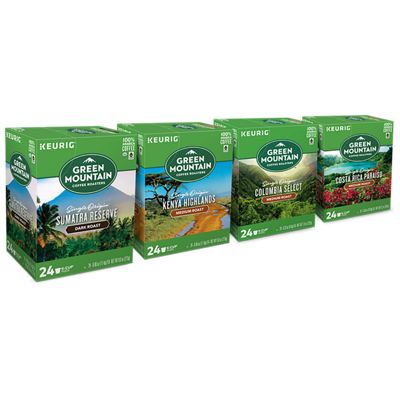 Green Mountain Coffee Roasters® Single Origin Variety Pack