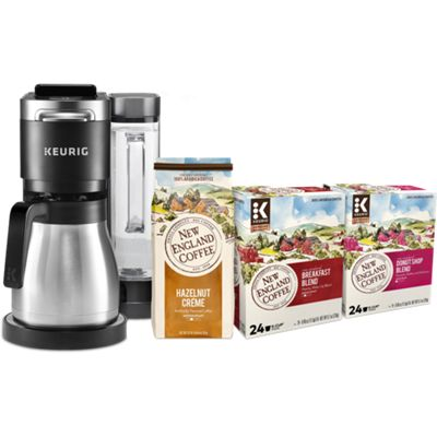 K-Duo Plus™ + New England® Coffee Bundle